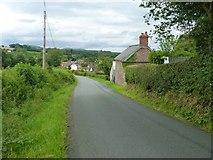 SO4387 : Coming into Bushmoor by Richard Law