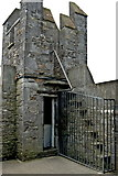 R4560 : Bunratty Castle - Top of Northeast Tower by Joseph Mischyshyn