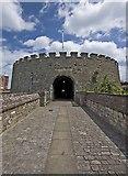 TR3752 : Deal Castle entrance by Paul Harrop
