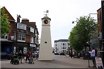 TQ0202 : The clock tower in High Street by Steve Daniels