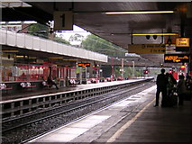 SP3378 : Coventry station: view towards Birmingham by Christopher Hilton
