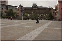 SE2934 : Millennium Square, Leeds by Mark Anderson