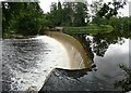NU2002 : Dam on the River Coquet by Russel Wills