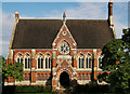 TQ1587 : Vaughan Library, Harrow on the Hill (1863) by Julian Osley