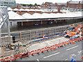 SK5739 : Bridge foundations, Station Street by Alan Murray-Rust