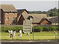 NX9717 : Cricket match in progress, Whitehaven by Graham Robson
