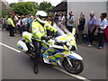 TQ0747 : Police Outrider by Colin Smith