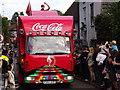 TQ0747 : Coca Cola Lorry by Colin Smith