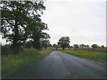 SO7729 : A417 near Hethelpit Cross by Colin Pyle