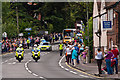 TQ2450 : West Street - the arrival of the torch convoy by Ian Capper