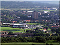 SJ9794 : Ken Ward Sports Centre, Hattersley by Stephen Burton