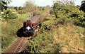 D0507 : Train near Cullybackey by Albert Bridge