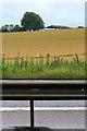 SU4980 : Barn and crash barrier by David Lally