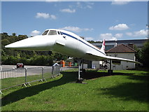 TQ0762 : Model Concorde by Colin Smith