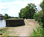 SK7953 : Newark, Notts (Longstone Bridge) by David Hallam-Jones