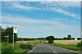 TQ6992 : A129 by Barleylands bus stop by Robin Webster