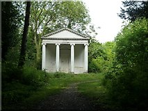 SP9310 : Summer House portico, Tring Park Wood by Rob Farrow