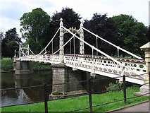 SO5139 : Hereford - Victoria Bridge by Dave Bevis