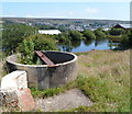 SO2408 : Top of a disused air shaft near Forgeside, Blaenavon by Jaggery