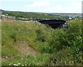 SO2309 : Railway bridge over a path near Big Pit Halt station, Blaenavon by Jaggery