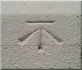 J3574 : Bench Mark, Belfast by Rossographer