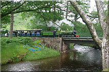 NY1700 : Ravenglass & Eskdale Railway, Dalegarth by Stephen McKay