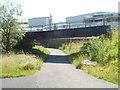SO2408 : North side of a railway bridge, Forgeside, Blaenavon by Jaggery