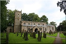 SK2071 : St Giles, Great Longstone by Dave Dunford