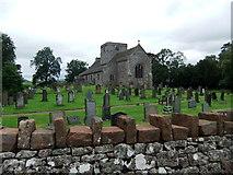 NY4826 : St Michael's Church, Barton by David Brown