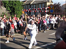 TQ4077 : Torch relay: the flame itself by Stephen Craven