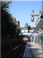 TQ3481 : The Gherkin from Whitechapel Underground station by Christopher Hilton