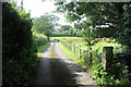 SJ8273 : The footpath west from Astle Farms by Peter Turner