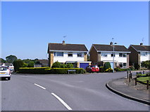 TM3876 : Babington Drive, Halesworth by Adrian Cable