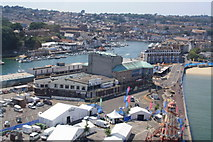 SY6878 : The Pavilion and Weymouth Harbour by John Stephen