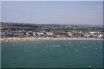 SY6879 : Weymouth beach by John Stephen
