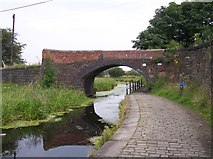 SD7908 : Cobbled towpath on the Manchester,Bolton and Bury Canal by Raymond Knapman