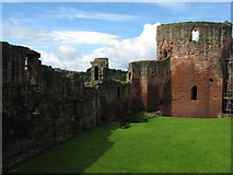 NS6859 : Bothwell Castle - the Donjon by M J Richardson