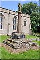 SO8674 : War memorial, Stone churchyard by Philip Halling
