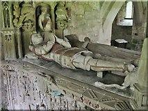 NU0625 : Tomb in St. Peter's Church, Chillingham by Derek Voller
