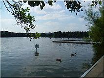 TQ2472 : Wimbledon Park Lake by Marathon