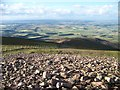 NS9534 : Looking Southeast from the summit of Tinto Hill by Elliott Simpson