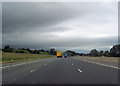 NY4932 : M6 junction 41 from the south by John Firth