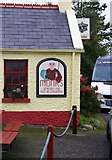 M2208 : Monks Bar & Restaurant (3) - sign, Old Pier, Ballyvaughan, Co. Clare by P L Chadwick