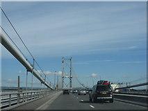 NT1279 : The Forth Road Bridge by M J Richardson