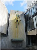 NZ2465 : River God Tyne Sculpture, Newcastle Civic Centre by Graham Robson