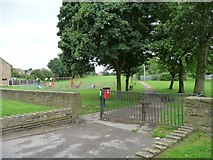 SE4111 : Entrance to Brierley Park by Christine Johnstone