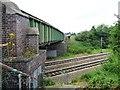 SE4313 : Private steps down to the railway line by Christine Johnstone