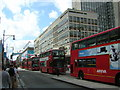 TQ2881 : Oxford St W1 during the London Olympics by Christopher Hilton