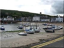 NO8785 : Stonehaven Harbour at low tide by James Denham