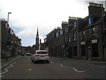NO8785 : A street scene in Stonehaven by James Denham